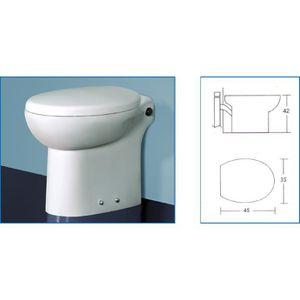 WC - TOILETTES WC avec broyeur incorporé TECHNO FLUX 45