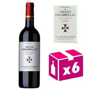 VIN ROUGE 6 bouteilles Château du Grand Chambellan - Lalande