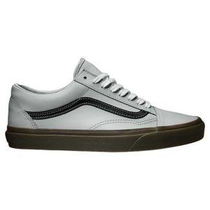 Vans Old Skool Mono Hommes Bleu à lacets en toile Chaussures de sport Chaussures HZ3XN 41 QVAi7vA