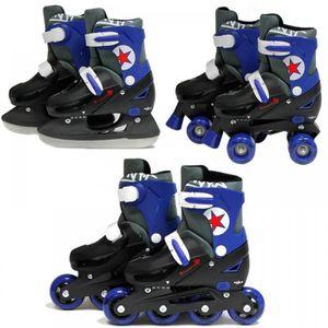 b87f5317077f57 ROLLER IN LINE Sk8 zone garçons filles Roller Blades patins à rou