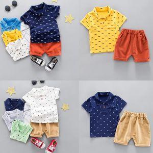 ea3ca5a6b0ce0 Ensemble de vêtements Enfants Bébés garçons Cartoon Imprimer Hauts T-shi ...
