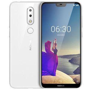 SMARTPHONE Nokia X6 4+64 Go Blanc 5,8 Pouces 19:9 AI Caméra F