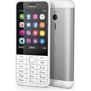 Téléphone portable Nokia 230 DualSim blanc - Silver
