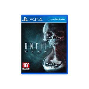 JEU PS4 Until Dawn PlayStation 4