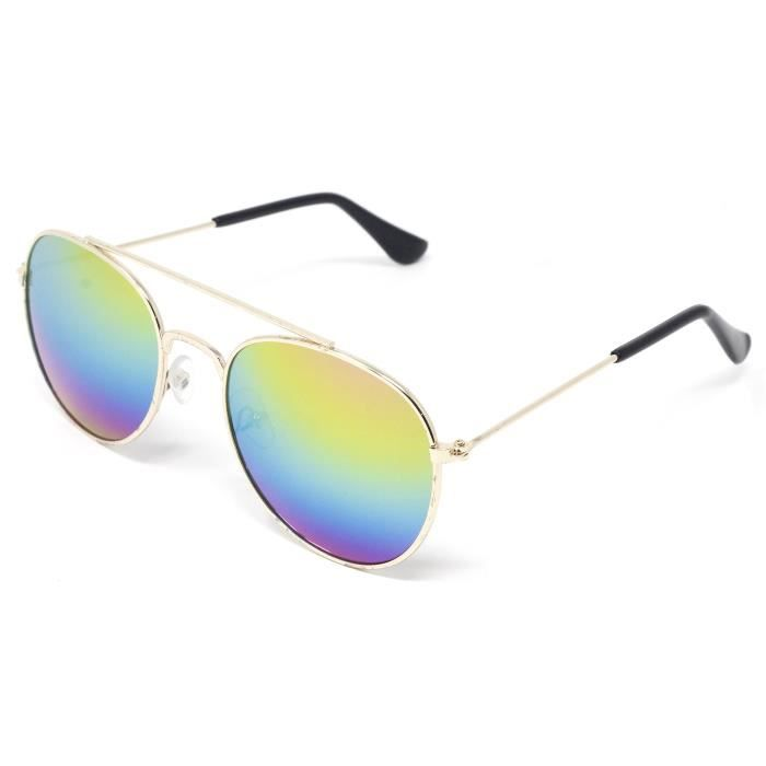 Premium Mirror Coated Lenses Sunglasses With Uvb Protection AFY4M