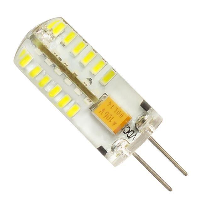 Mengjay® 1 x G4 Ampoule LED 3 W blanc chaud Ampoule LED capsule LED Spot Lampe en cristal de lampe d'éclairage G4 LED Spot Lampe AC