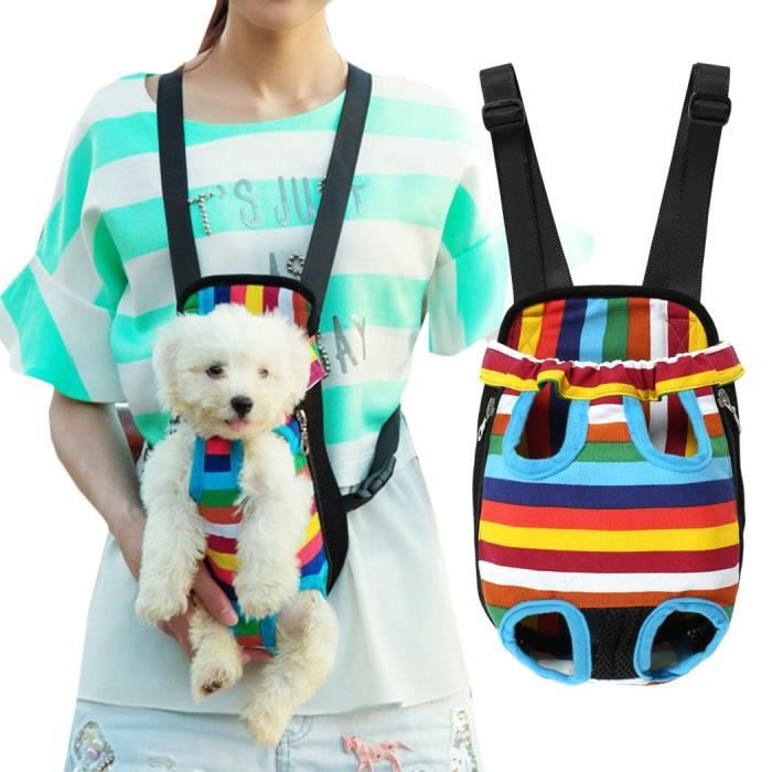 Chien Chat Rayé Voyage Sac À Dos S Taille