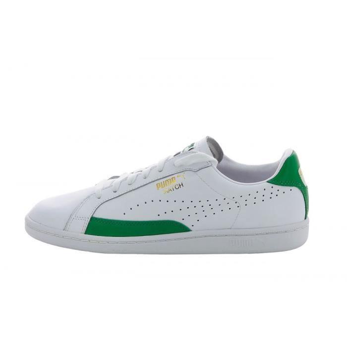 puma blanche et verte