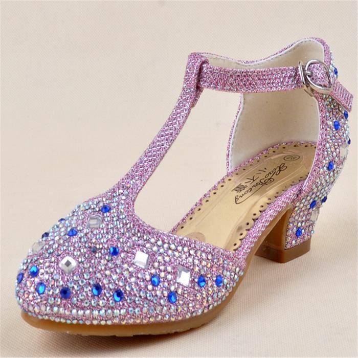 04b6b93f819e8 Noble fille sandales Cendrillon édition en volume de luxe princesse ...