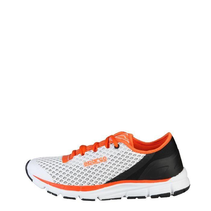 Sparco - Chaussures de Daytona blanc, orange