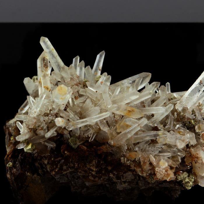 Pierre-Siderite, Quartz, Pyrite. 253.9 ct. Mésage Mine, Vizille, France. Rare