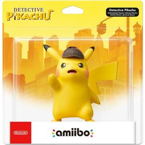 NOUVEAUTÉ FIGURINE Amiibo Detective Pikachu