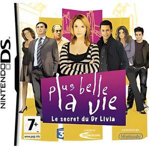 JEU DS - DSI PLUS BELLE LA VIE : Le secret du Dr Livia / JEU CO
