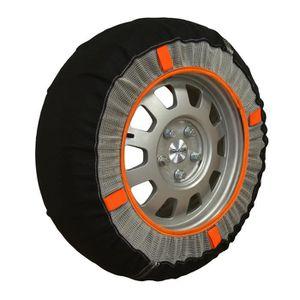 CHAINE NEIGE Chaussettes neige textile pneus 225-45R17