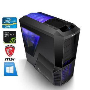 UNITÉ CENTRALE  PC Gamer I7-8700K - GeForce GTX 1080 8GO - 16GO RA