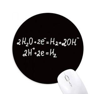 TAPIS DE SOURIS kowledge electrolyse de l'eau chimie jeu de caoutc