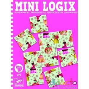 PUZZLE DJECO - Mini Logix Puzzle impossible princesses (