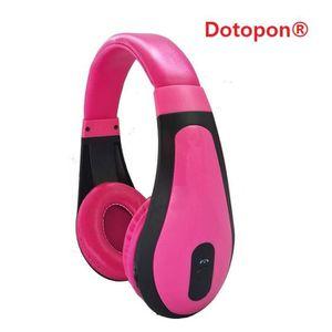 CASQUE - ÉCOUTEURS Dotopon®(pink)Smart Consumer Electronics Communéme