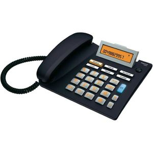 Téléphone fixe Téléphone filaire pour séniors Gigaset 5040 noir,