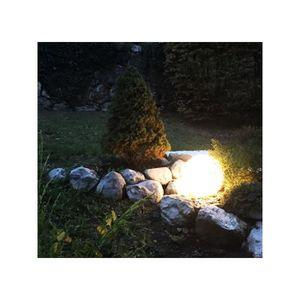APPLIQUE EXTÉRIEURE Lampe boule d'Extérieur LED rechargeable Pampelonn