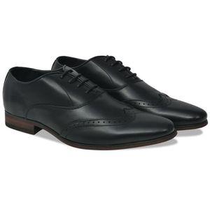 RICHELIEU Chaussures à lacets pour hommes Noir Pointure 42 C