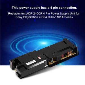 MANETTE JEUX VIDÉO Bloc d'alimentation noir ADP-240CR pour Sony PS4