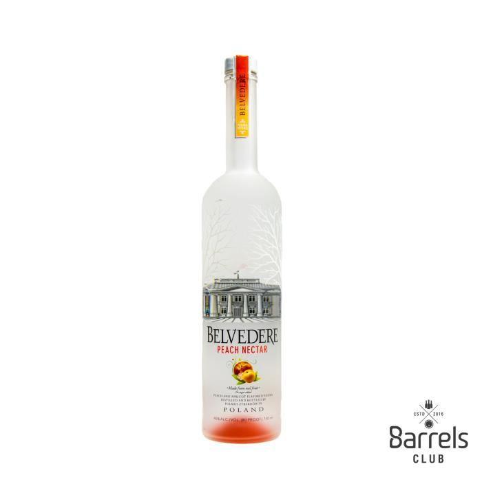 VODKA Belvedere Peach Nectar Vodka 75cl