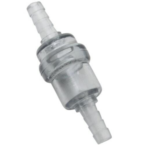 FILTRE A ESSENCE CYLINDRIQUE PLASTIQUE -TRANSPARENT DIAM 6mm (VENDU A L'UNITE)