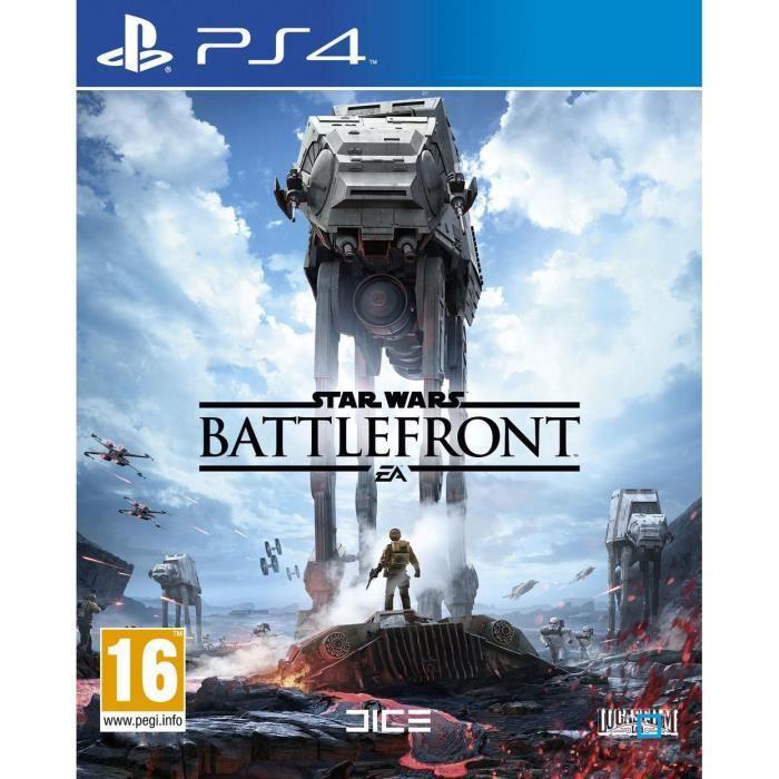 JEU PS4  Star Wars : Battlefront sur PS4