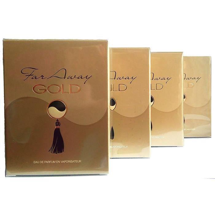 4 Avon Pour Far Eau De Parfum X Gold Femme 50mllot Away rshtQdC