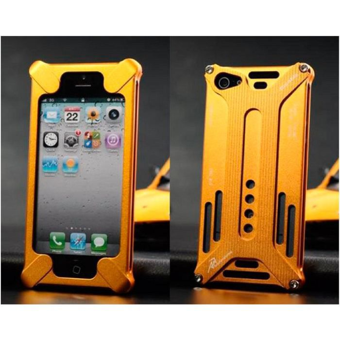 coque iphone 5 gold