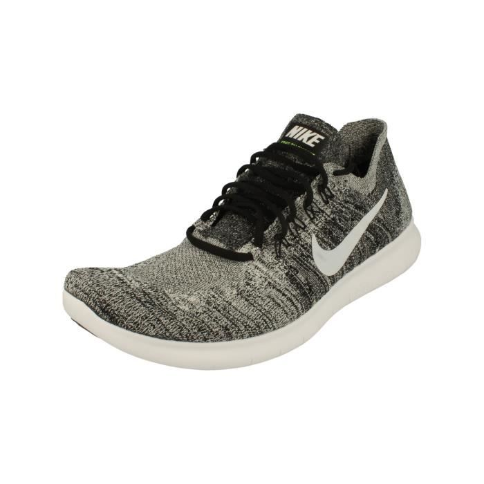Nike Free RN Flyknit 2017 Hommes Running Trainers 880843 Baskets