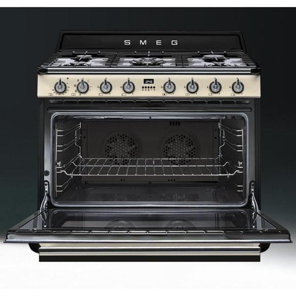 Cuisinière piano gaz SMEG TR90P1 - Achat / Vente cuisinière ...