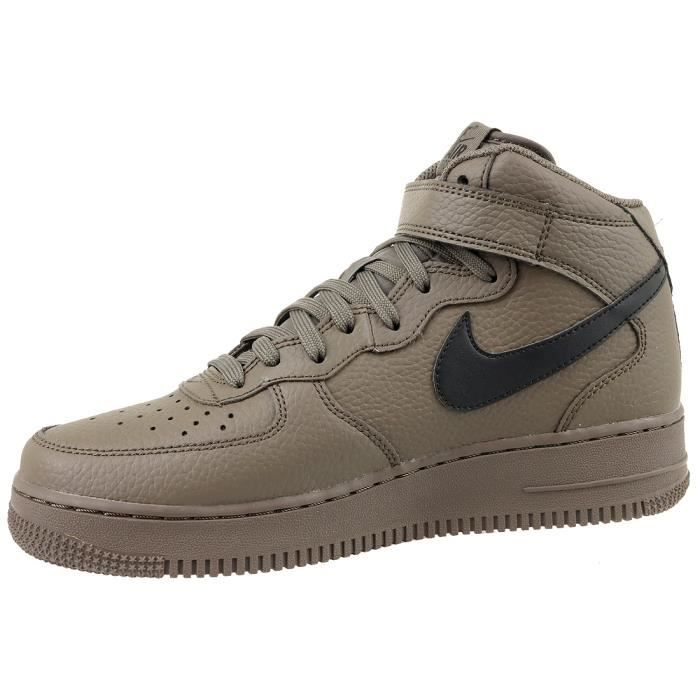 Nike Air Force 1 Mid '07 315123-205 Homme Baskets Marron