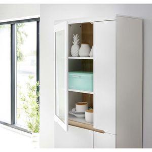 vaisselier scandinave achat vente vaisselier scandinave pas cher cdiscount. Black Bedroom Furniture Sets. Home Design Ideas