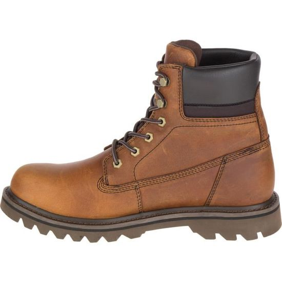 1183cbac4df Caterpillar Deplete WP Boots Marron Marron - Achat   Vente bottine -  Cdiscount