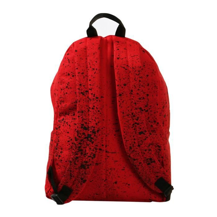 Hype Homme chatoiement Backpack, Rouge