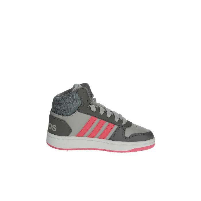 Adidas Sneakers Fille Gris, 28