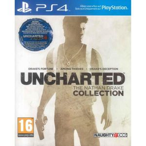 JEU PS4 Uncharted : The Nathan Drake Collection (ps4)