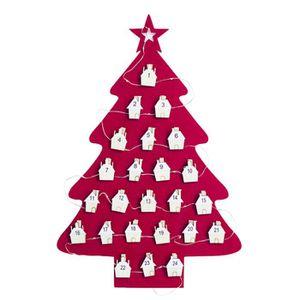 KIT DE DECORATION Décorations de Noël Lumières Arbre Calendrier Hôte