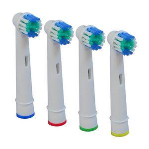 BROSSE A DENTS 20 pièces Brosse à dents électrique Têtes de recha