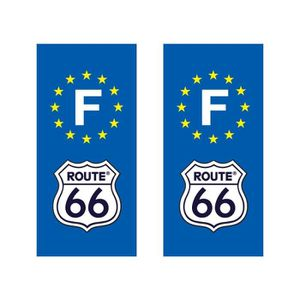 route 66 stickers achat vente route 66 stickers pas cher cdiscount. Black Bedroom Furniture Sets. Home Design Ideas
