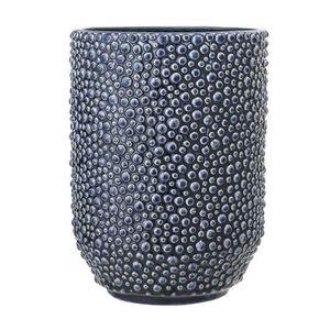 VASE - SOLIFLORE Vase Céramique 20.5 cm Bleu