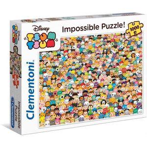 PUZZLE TSUM TSUM Impossible Puzzle 1000 pièces Clementoni