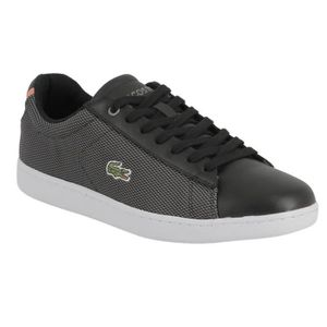 Chaussure lacoste femme achat vente pas cher soldes - Lacoste carnaby evo cls baskets en cuir perfore ...