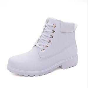 Bottine de neige Femmes Mode Beau Meilleure Qualité Chaussures Pour Hiver PerméAble à L'Air Plus Taille 36-40 kUCMH
