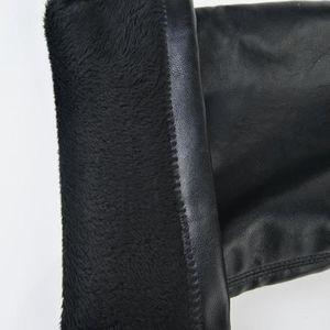 CUISSARDES Cuir de mode sur Cuissardes Femmes Toe élastique e