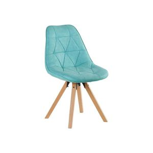 Chaise scandinave bleu achat vente chaise scandinave for Chaise bleu turquoise
