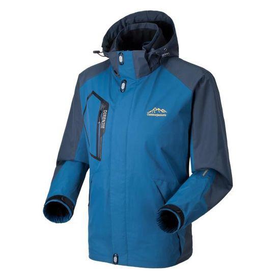 Grande Ski Vêtements Extérieur Veste Imperméable Windbreaker Cyclisme De Escalade Capuche À Jtong Taille Homme azwgnq4x7