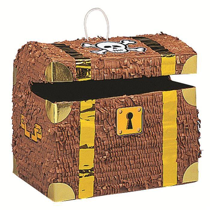 pinata coffre des pirates achat vente pi ata cdiscount. Black Bedroom Furniture Sets. Home Design Ideas
